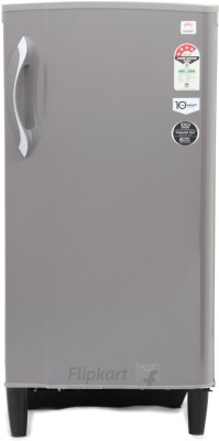 Godrej 185 L Direct Cool Single Door Refrigerator (RD EDGE 185 E2H 4.2, Candy Grey)