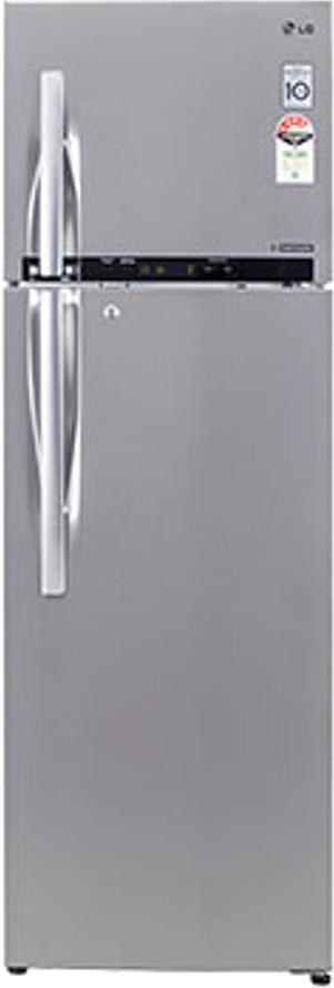 LG GL-D372HNSL 335 L Double Door Refrigerator   Refrigerator  (LG)