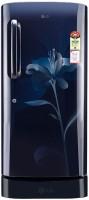 LG 190 L Direct Cool Single Door Refrigerator(GL-D201AMLN, Marine Lily, 2016)