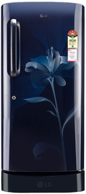 LG 190 L Direct Cool Single Door Refrigerator(GL-D201AMLN, Marine Lily)