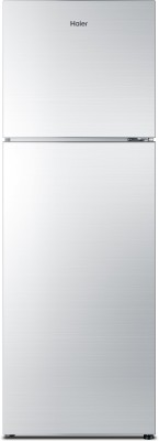 Haier 270 L Frost Free Double Door Refrigerator (HRF-2904PSG-R, Silver Glass)