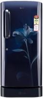 LG 190 L Direct Cool Single Door Refrigerator(GL-D201ASOX, scarlet orchid, 2017)