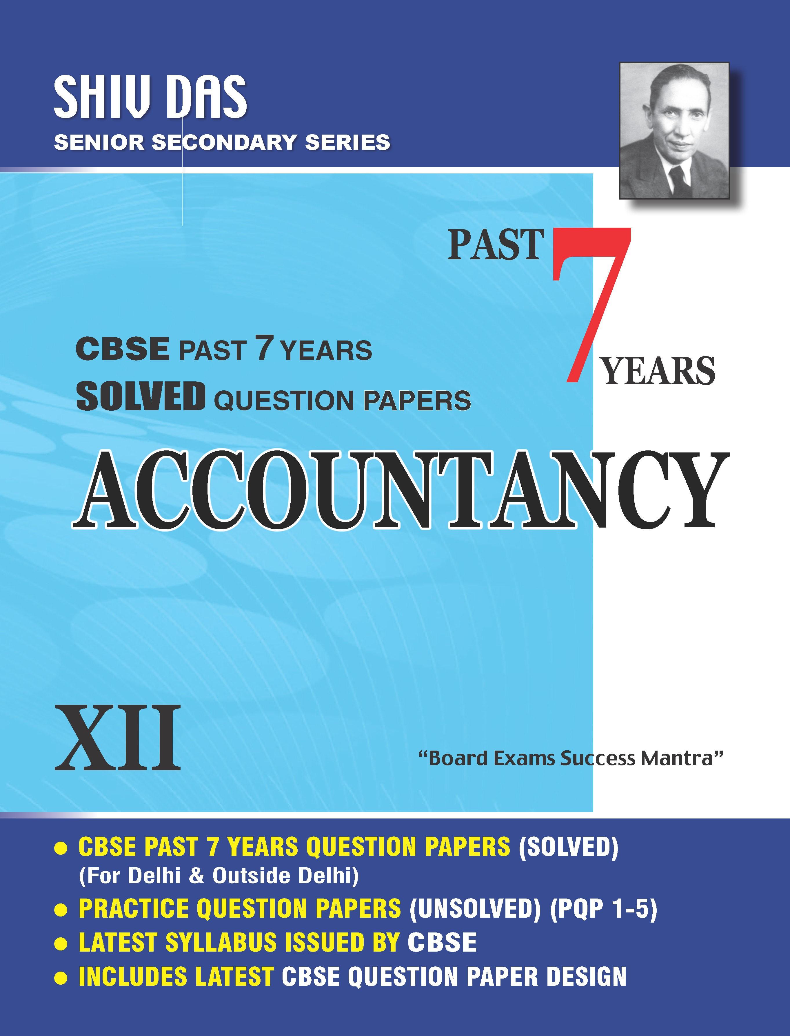 xi accountancy cbse board