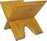 SC Handicrafts Wooden Beige Rehal(Width (Open) = 18 cm : Height (Open) = 13 cm)