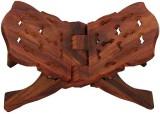 AbheyArts Wooden Brown Rehal (Width (Ope...