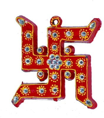Mabkraft Swastik, Shree and Om Religious Footprint(PVC)
