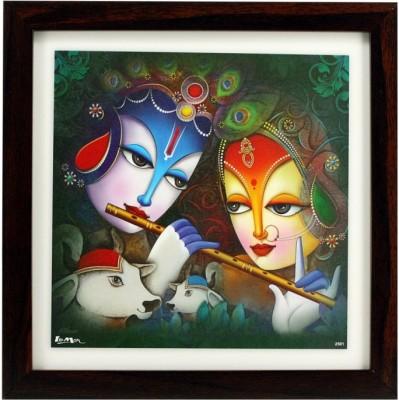 Indianara Radha Krishna Religious Frame