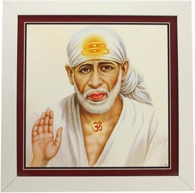Indianara Sai Baba (Om) Religious Frame