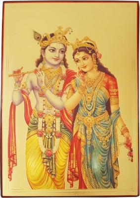 Gold Art 4 U Radhe Krishna Religious Frame