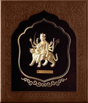 24kt Nainaqsh DURGA Religious Frame