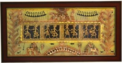 Shilpm Warli Religious Frame
