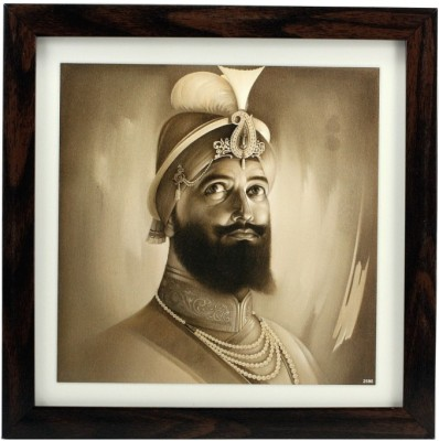Indianara Sri Guru Gobind Singh Ji Religious Frame