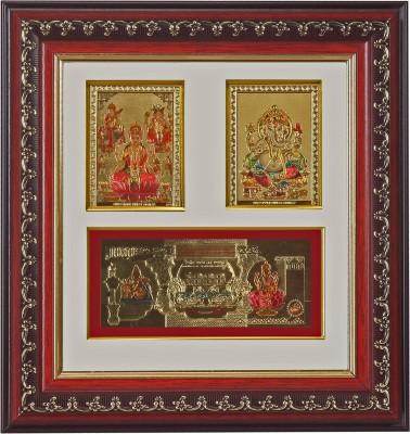 ARGS PAPER PLUS Lakshmi-Ganesha Religious Frame