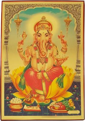 Gold Art 4 U Ganpati Religious Frame