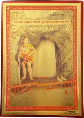 Gold Art 4 U Amarnath Gufa Religious Frame