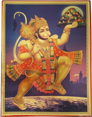 Gold Art 4 U Hanuman Religious Frame