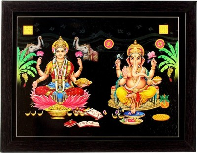 Indianara Laxmi ganesh (Diwali Pujan) Religious Frame