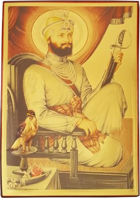Gold Art 4 U Guru Govind Singh Religious Frame