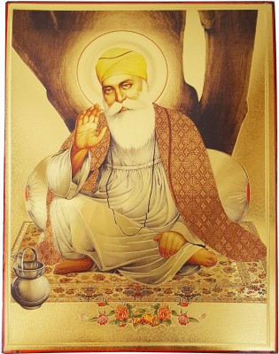 Gold Art 4 U Guru Nanak Religious Frame