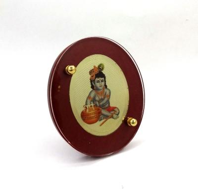 Sitare Bal Gopal 24 ct. Gold Foil Photo Diviniti Religious Frame