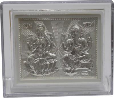 Kataria Jewellers Lakshmi & Ganesha Religious Frame