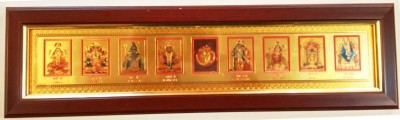 Artfelt Hindu Gods Religious Frame