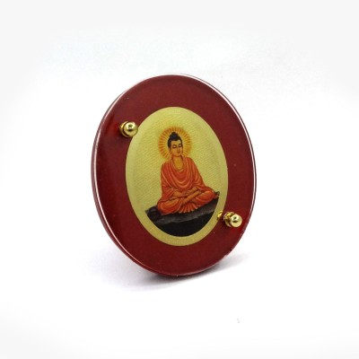 Sitare Lord Buddha Diviniti 24 ct. Gold Foil Photo Religious Frame