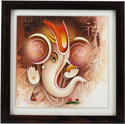 Indianara Lord Ganesha (I) Religious Frame