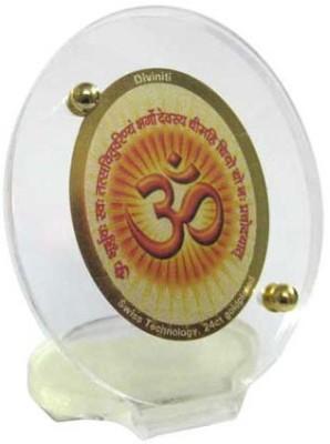 Sitare Gayatri Om 24 ct. Gold Foil Photo Religious Frame