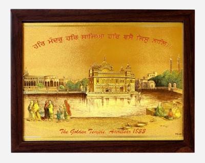 Indianara The Golden temple Amritsar (1833) Religious Frame