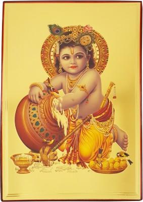 Gold Art 4 U Krishna Religious Frame