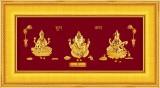 Prima Art Laxmi Ganesha Sarswati Religio...