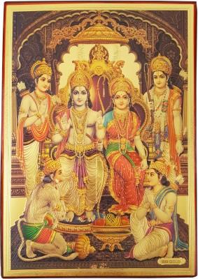 Gold Art 4 U Ram Darbar Religious Frame