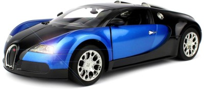 FLIPZON R-C Buggati Veyron Remote Controlled Rechargeable Full Function Car - Blue