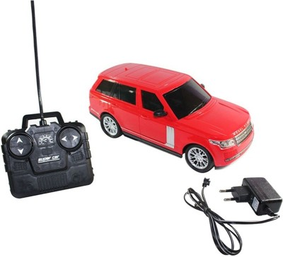AZI Range Rover Rechargeable Model Car (Red)