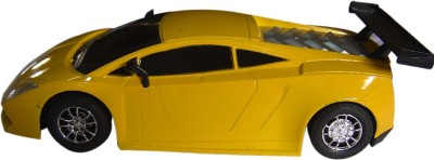 Brunte 1:18 City Stylish Remote Car With Rechargeable Battery Yellow