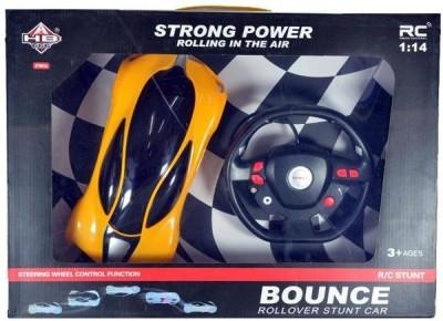Rey Hawk Bounce Rollover RC Stunt Car(Yellow)