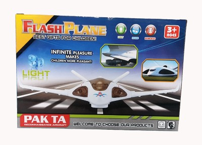 Lotus Battery Operated Flash Plane(Multicolor)