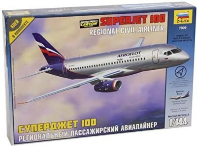 Zvezda Models 1/144 Sukhoi Superjet 100