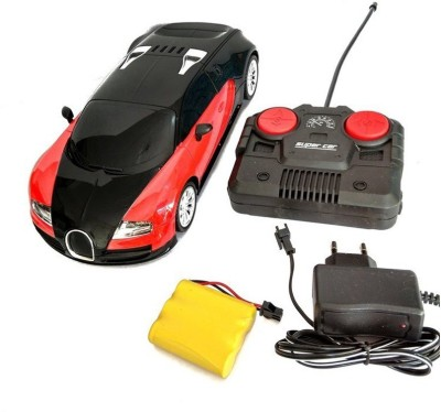 Turban Toys Remote Control Rechargeable Stylish Bugatti Car