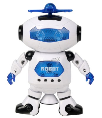 RIANZ Musical And Dancing Robot - 3D Lights And Very Attractive toy For Kids