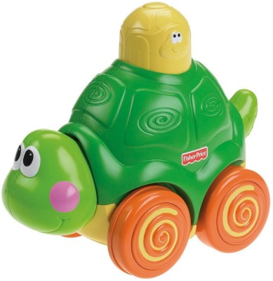 Fisher-Price Press and Crawl Turtle