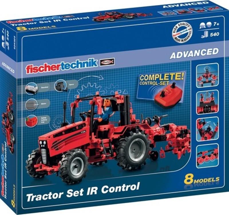 Fischertechnik Tractor Set IR Control(Red)