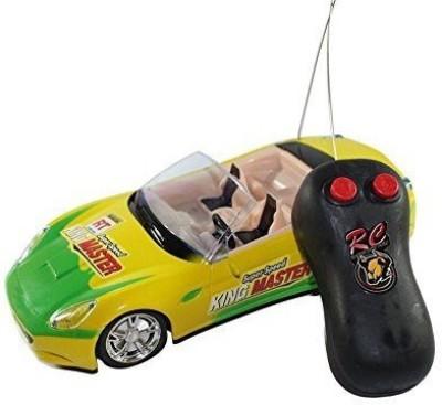 Rey Hawk R/c Super First Leader Remote Control Car Scale 1:24 Yellow