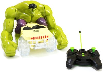 Wishkey Avenger's Hulk remote control Multicolor Car