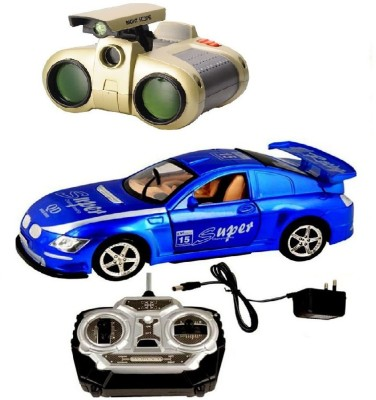 New Pinch Rechargeable Wireless King Driver Remote Control Car with binocular toy