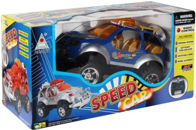 Just Toyz Radio Remote Control Speed Stunt racing Car with Truck Looks, SUV Rough and Tough