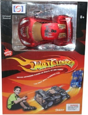 Lucky Boy Hot Wall Climber Car with Led Lights