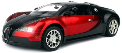 FLIPZON R-C Buggati Veyron Remote Controlled Rechargeable Full Function Car - Red