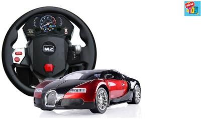 Mera Toy Shop Bugatti Veyron 1:14 Steering Wheel Remote Control Car Red
